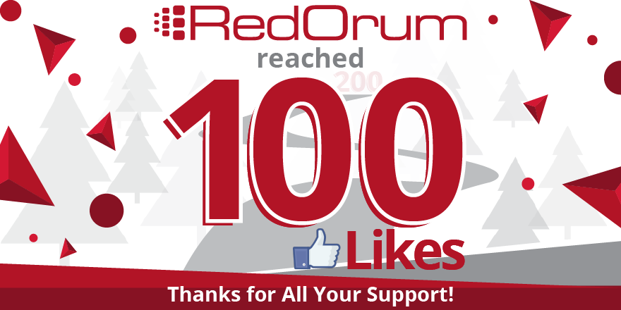 RedOrum reaches 100 likes! Thanks to all that support our Facebook page!