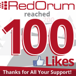 RedOrum Reaches 100 Likes on Facebook!