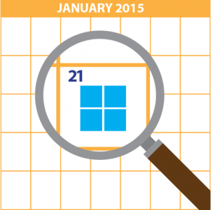 Microsoft Windows 10 announcement has been schedule for late January.
