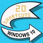 Infographic: 20 Shortcuts for Windows 10
